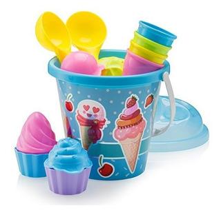 Top Race Beach Toys, Sand Toys, Set De Moldes De Helado De 1