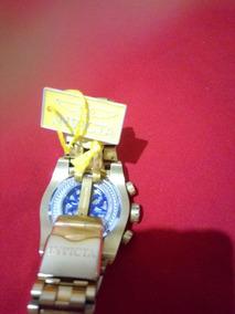 Relógio Invicta Zeus Bolt 12763, Reserve Skeleton Dour. Orig