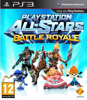 Playstation All Stars Battle Royale Ps3 Completo Digital