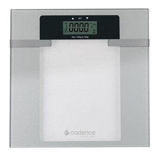 Balança Digital Inteligente Cadence Bal200 Até 150kg Branco