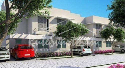 Sobrado Novo Em Condomínio Com 2 Suítes  À Venda, 64 M² Por R$ 349.900 - Vila Aurocan - Campinas/sp - Ca3465