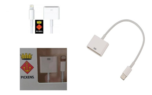 Cable Conector Lightning A Idock 30 Pines iPhone 4 5 6 + New