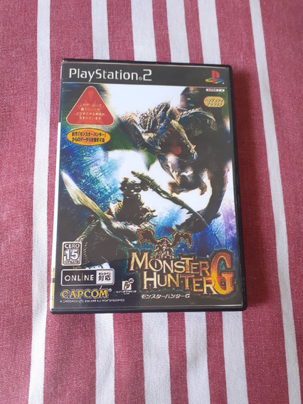 Monster Hunter G Ps2 Original