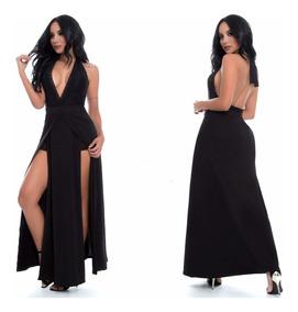 Enterizo Corto De Falda Larga Color Negro Para Mujer Hermoso