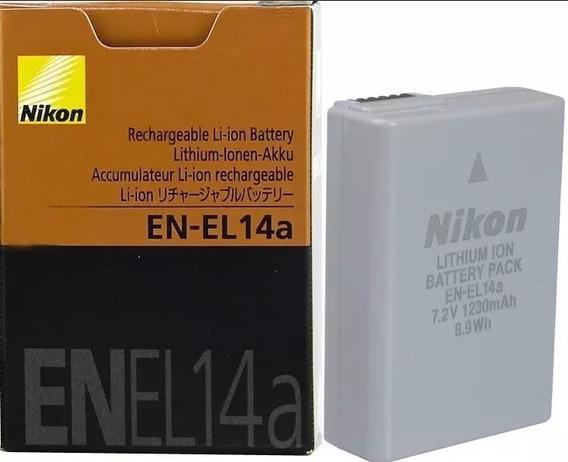 Bateria P/nikon En-el14a D3200 D3300 D5100 D5200 3100.gratis
