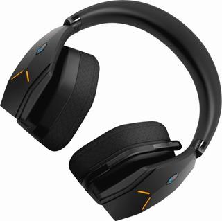 Audifonos Gamer - Alienware Inalambricos Con Cable - Negro