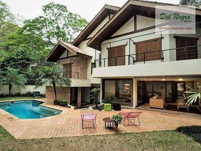 Casa Com 4 Dormitórios À Venda, 430 M² - Forest Hills, Granja Viana. - Ca1586