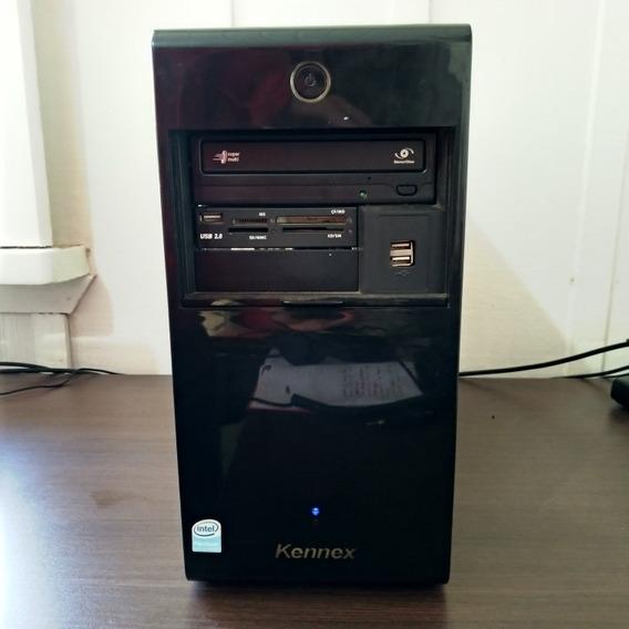 Pc Gabinete Kennex Pentium Dual Core E2160 3gb Ram 1tb Hd