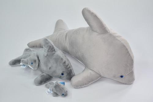 Imagen 1 de 1 de  Kits Familia Delfines Chica (12cm,32cm,60cm)  Mundo Marino