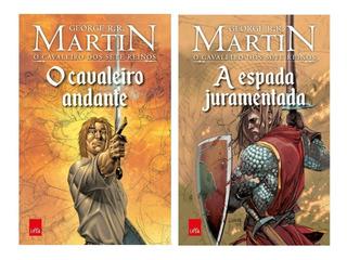 Livro - O Cavaleiro Andante + Livro A Espada Juramentada Hq