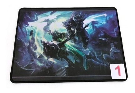 3 Mouse Pad Gamer Emborrachado 24 X 32 X 0,4mm