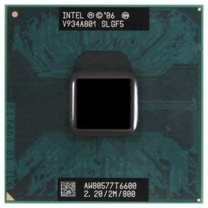 Intel Core 2 Duo T6600 Cache 2mb 2.20ghz 800mhz
