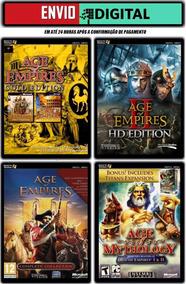 Age Of Empire Collection - 14 Jogos Da Série - Envio Digital