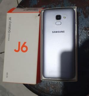 Sansumg Galaxy J6 5 Meses De Uso Com Todos Os Acessórios
