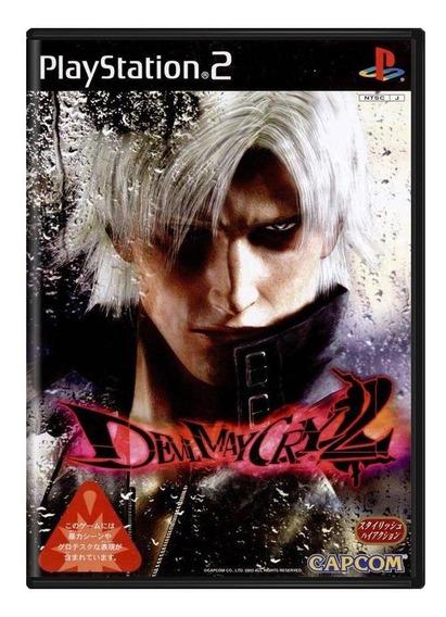 Devil May Cry 2 Ps2 Japonês Mídia Física Pronta Entrega