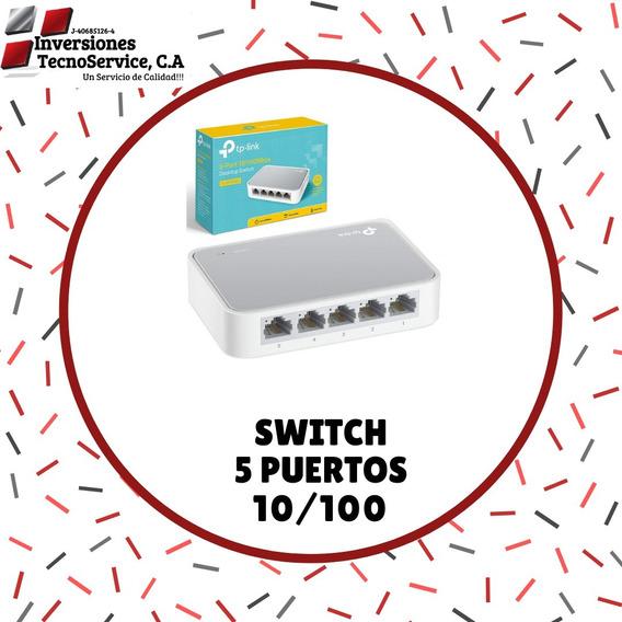 Switch 5 Puertos 10/100 Tp-link