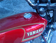 Yamaha Rx 125 Vermelha - Placa Preta - Tenho 500 Four Tambem