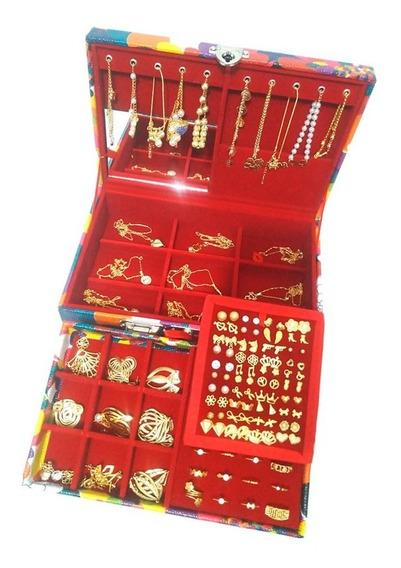 Kit Completo Atacado Revenda 250 Folheados + Maleta Luxo