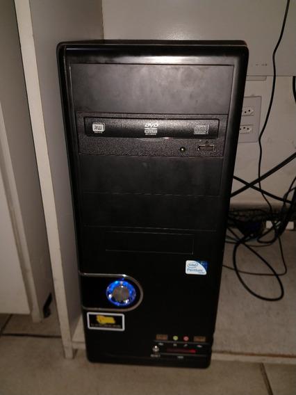 Computador + Tela Samsung 20 Polegadas + Teclado