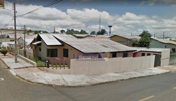 Casa Com 3 Dormitórios À Venda, 174 M² Por R$ 181.425,00 - São Cristóvão - Guarapuava/pr - Ca2354
