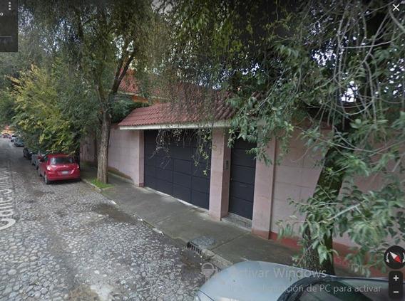 Excelente Casa Cerca De Calz De Tlalpan Y Rio Churubusco