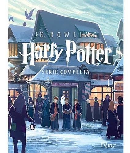 Imagem 1 de 12 de Box Harry Potter - Série Completa (sete Volumes)