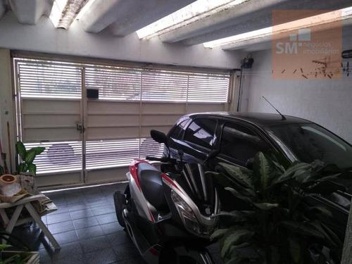 Casa Com 3 Dormitórios À Venda, 102 M² Por R$ 585.500,00 - Mauá - São Caetano Do Sul/sp - Ca0261