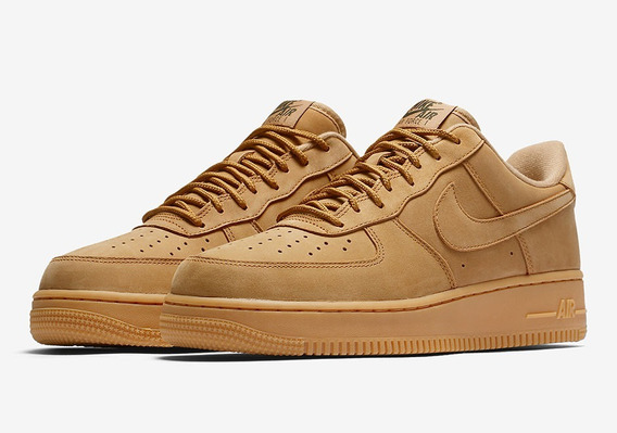 Nike Air Force 1 Mid Wheat Flax 40 46