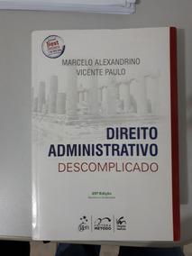 Direito Administrativo Descomplicado Marcelo E Vicente