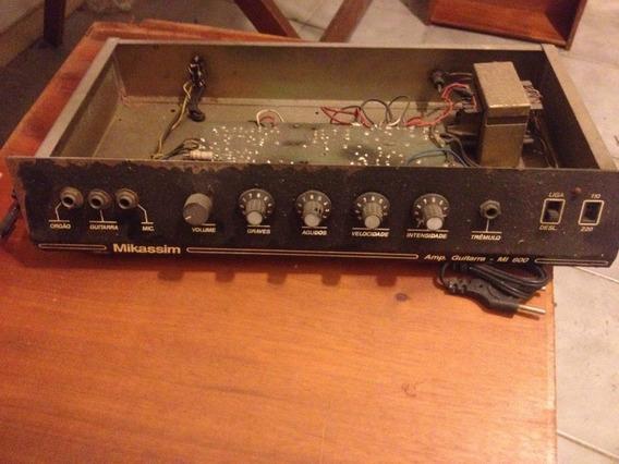 Amplificador Guitteclado Mikassim 30w No Estado (giannini)