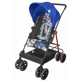 Carrinho De Bebê Novo Damiano Tutti Baby Azul