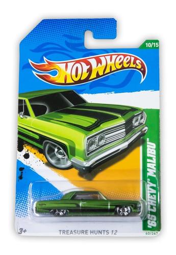 Hot Wheels Treasure Hunts 65 Chevy Malibu 2012 V5348