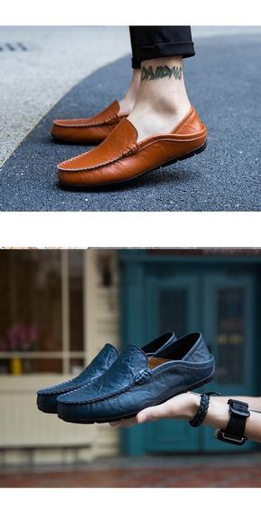 Zapatos De Cuero Respirables