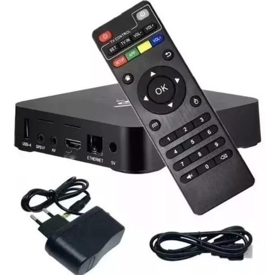 Sua Tv Em Smart Com Box Netflix Youtube 16gb 3ram