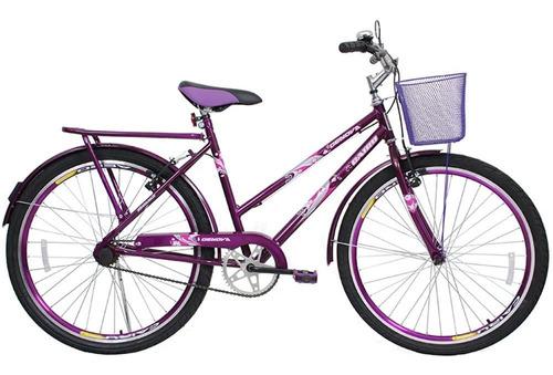Bicicleta Cairu Aro 26 Cesta Feminino Personal Genova 311010