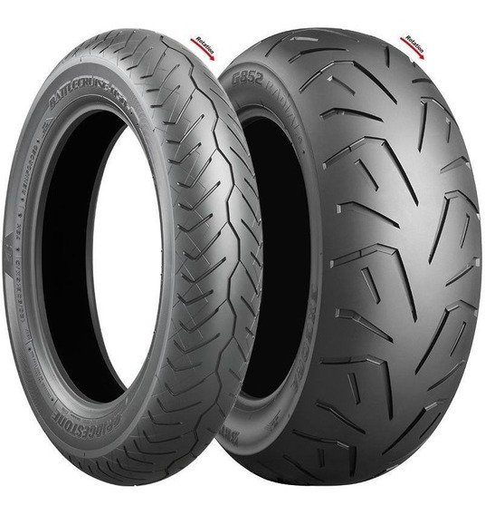 Pneus Bridgestone H50 140/75 R17 E G852 200/50 R17