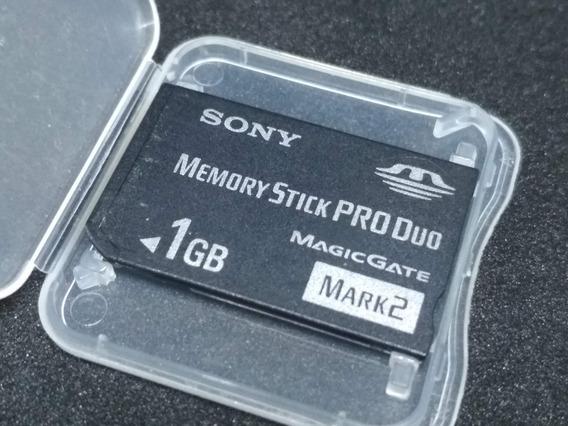 1 Card Memory Stick 1gb
