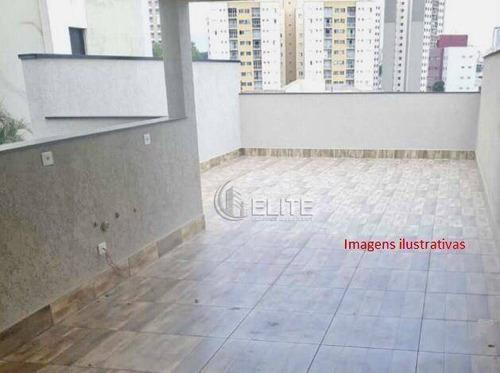 Cobertura Com 2 Dormitórios À Venda, 81 M² Por R$ 390.000,00 - Campestre - Santo André/sp - Co1613