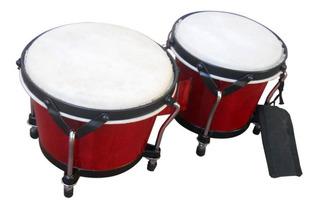 Bongo Percusion Ftb105d Semi Profesional