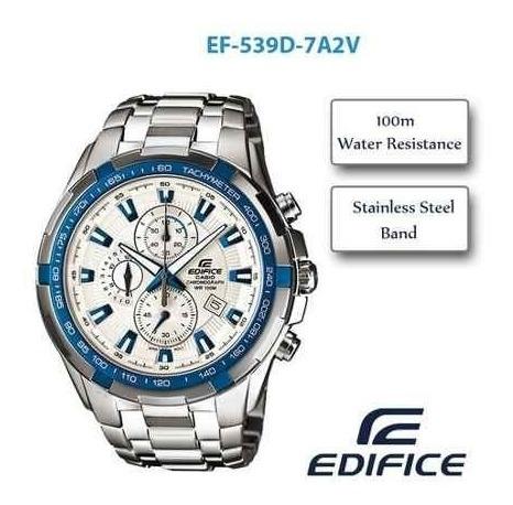 Reloj Casio Edifice Ef-539 Cronografo Taquimetro Envios