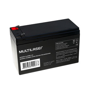 Bateria Para Alarme Ou Cerca Elétrica 12v Multilaser F01 Se1