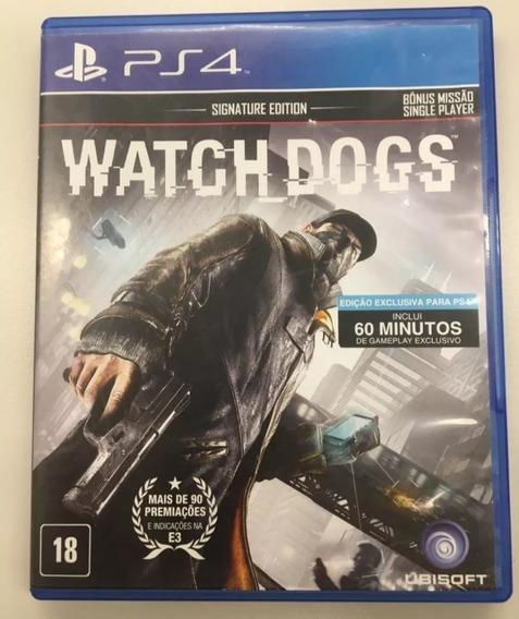 Game Watchdogs Ps4 Midia Fisica Nacional Português