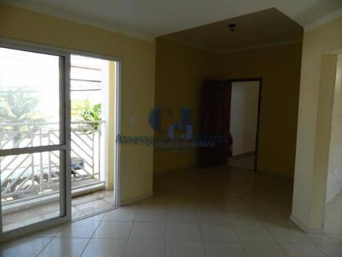 Apartamento Com 2 Dormitórios Para Alugar, 73 M² Por R$ 950,00/mês - Vila Fiori - Sorocaba/sp - Ap0351