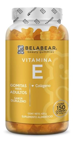 Suplemento Vitamina E 150 Gomitas Antioxidante Belabear