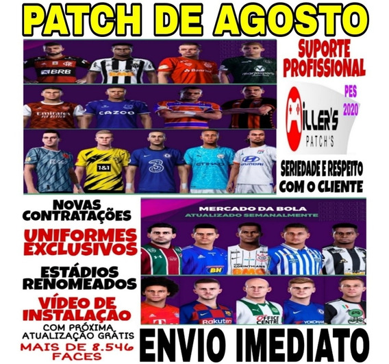 Patch Pes 2020 Ps4 Option File Atualizado + Patch De Bônus