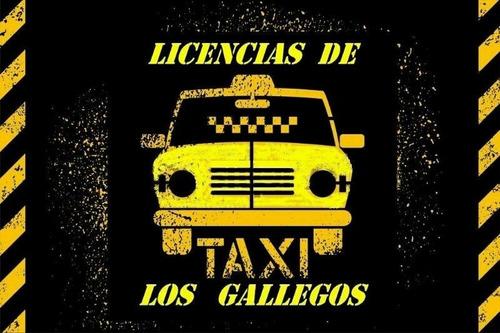 Taxis Ó Licencia? Consultanos ---taxi  Los Gallegos  --