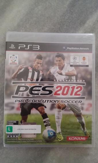 * Pro Evolution Soccer 2012 (ps3) * Novo Lacrado