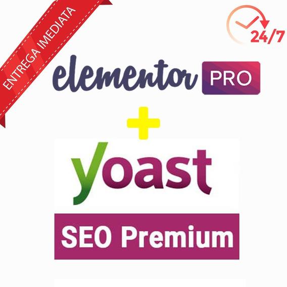 Licença Elementor Pro + Yoast Seo Premium Ilimitados