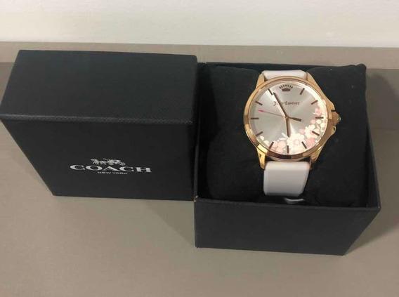 Relógio Coach Feminino Branco