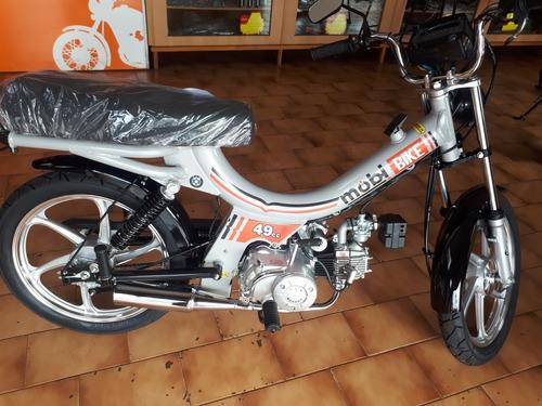 Imagem 1 de 11 de Mobi Bike 49cc Bicicleta Motorizada Consultar Disponibilidad
